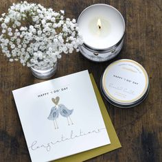 Sentimental Candles & Cards from Janie Wilson the Perfect Gift Combination.