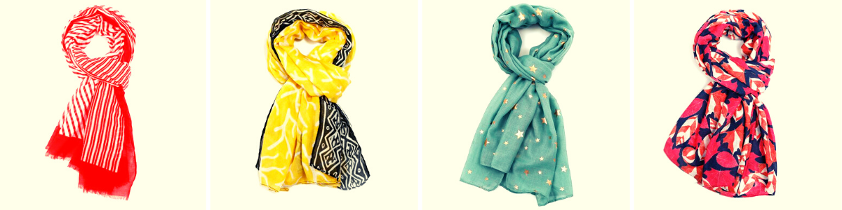 Mix & Match                               2 Scarves for £10