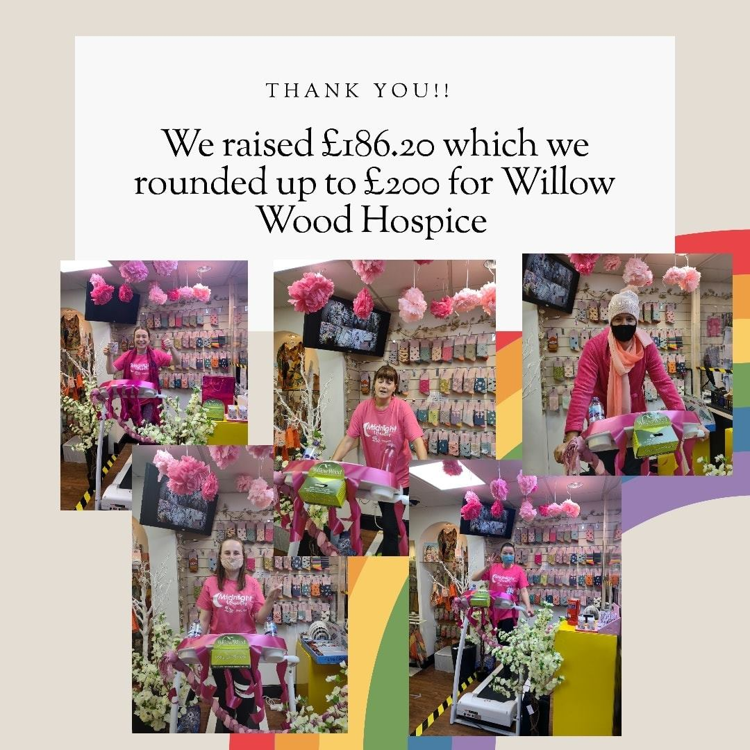 Putting our Best Foot Forward for Willow Wood Hospice