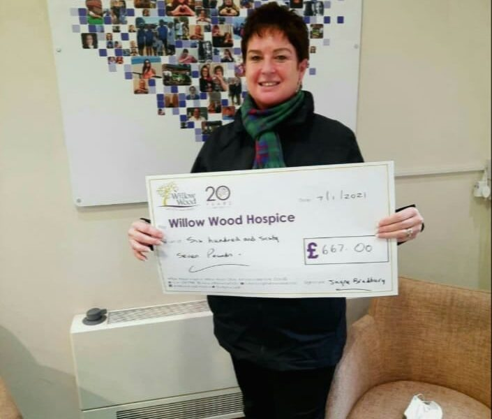 Jayne Raises Money for Hospice with Calendar Sales