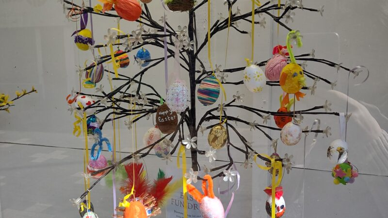 Easter Fund-raising at the Nest
